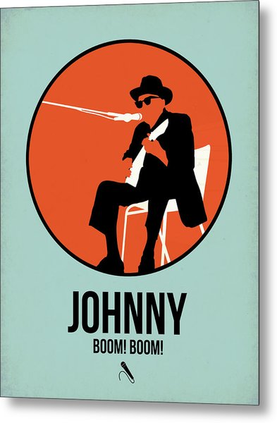 Johnny Poster 1 Metal Print