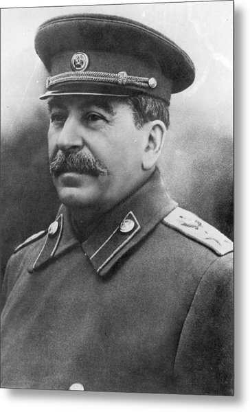 Joseph Stalin Metal Print by Keystone