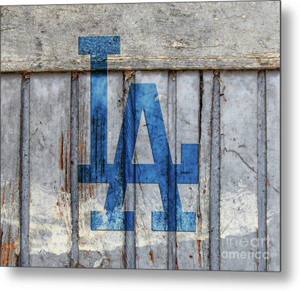 La Dodgers Metal Print