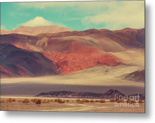 Landscapes Of Northern Argentina Metal Print