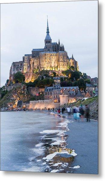 Le Mont Saint Michel, Normandy, France Metal Print