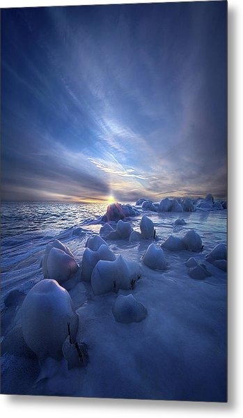 Metal Print featuring the photograph Letting Go by Phil Koch