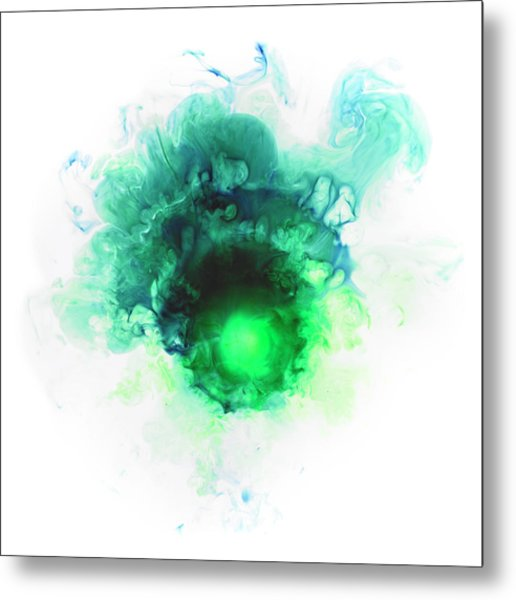 Liquid Color In Water Metal Print by Sunny