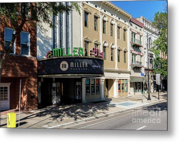 Miller Theater Augusta Ga Metal Print