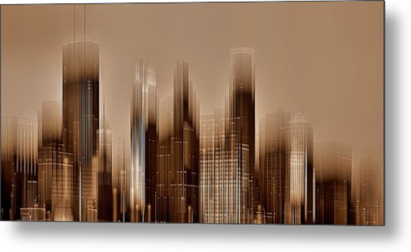 Minneapolis 2 Metal Print