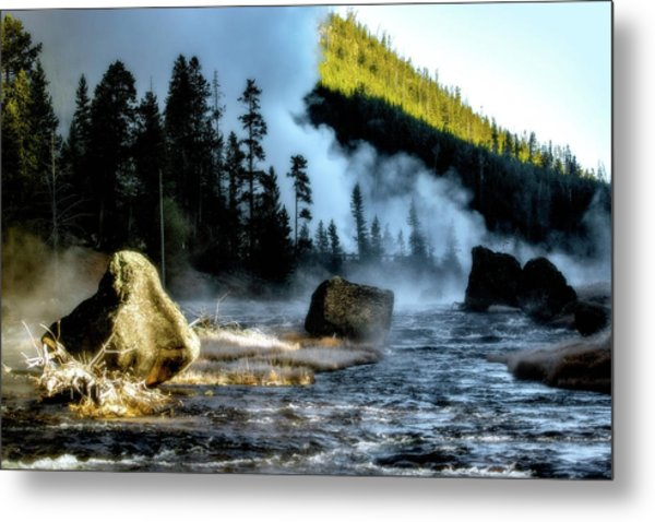 Metal Print featuring the photograph Misty Morning by Pete Federico