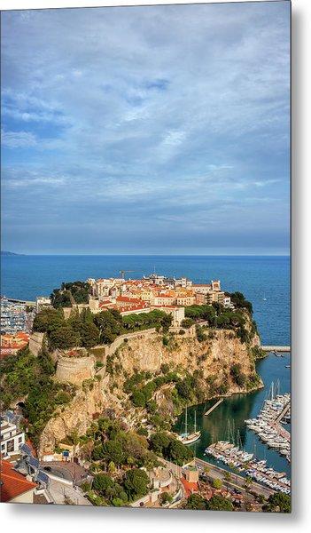 Monaco City Metal Print