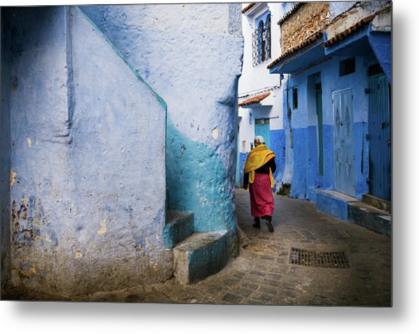 Metal Print featuring the photograph Morocco by Nicole Young