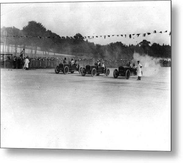 Motor Racing Metal Print by Topical Press Agency