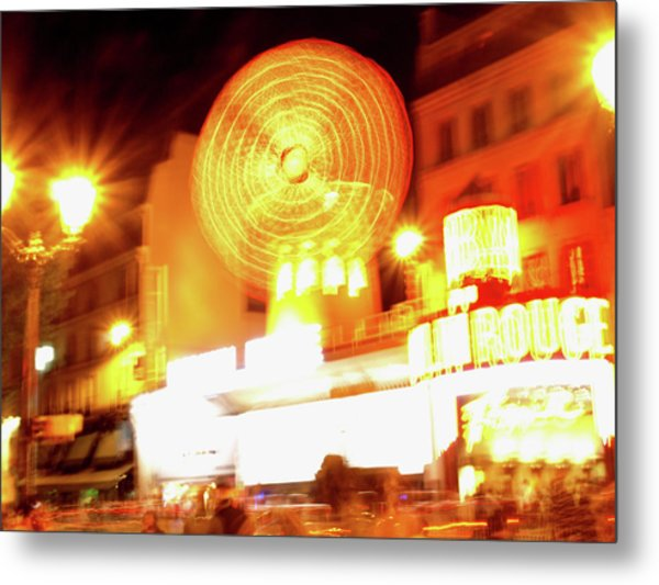 Metal Print featuring the photograph Moulin Rouge by Edward Lee