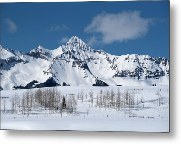 Metal Print featuring the photograph Mt Wilson by Angela Moyer