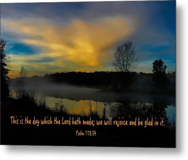 New Day Metal Print
