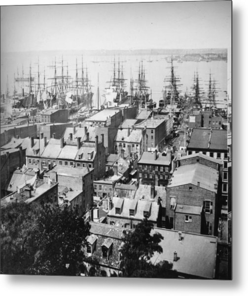 New York Harbour Metal Print by William England