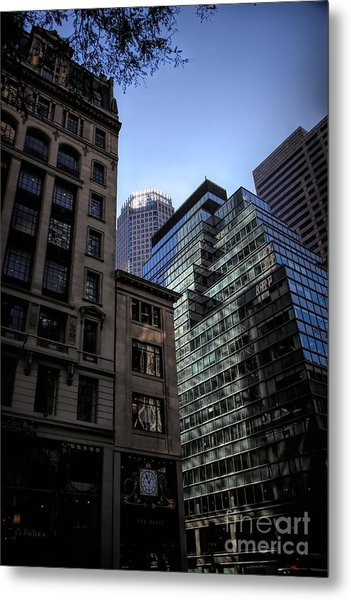 Nyc Architecture IIi Metal Print
