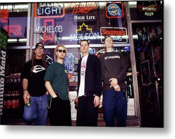 Offspring Chicago 1994 Metal Print by Martyn Goodacre