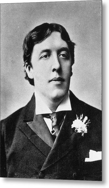 Oscar Wilde Metal Print by Alfred Ellis & Walery