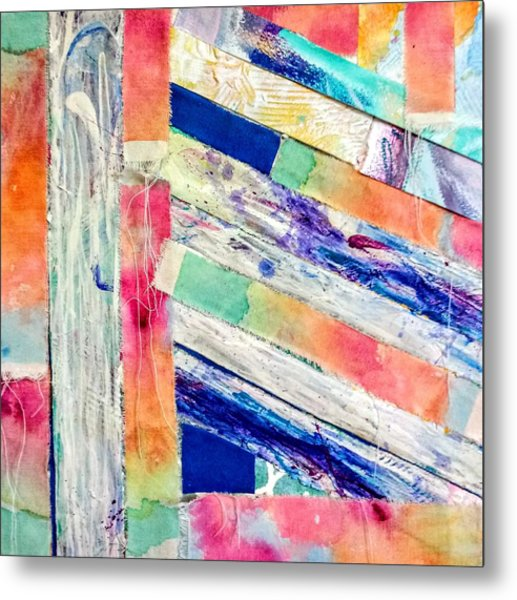 Metal Print featuring the painting Out Of Site, Out Of Mind by Tracy Bonin