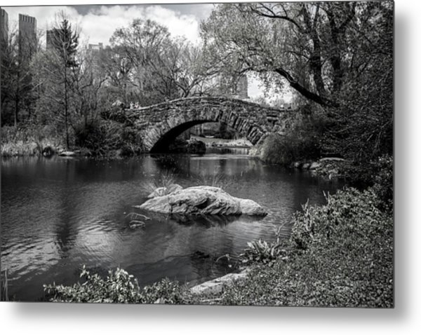 Park Bridge Metal Print