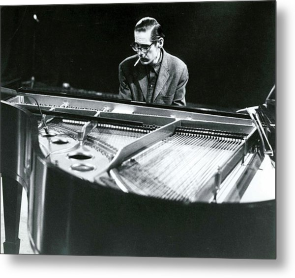 Photo Of Bill Evans Piano Metal Print