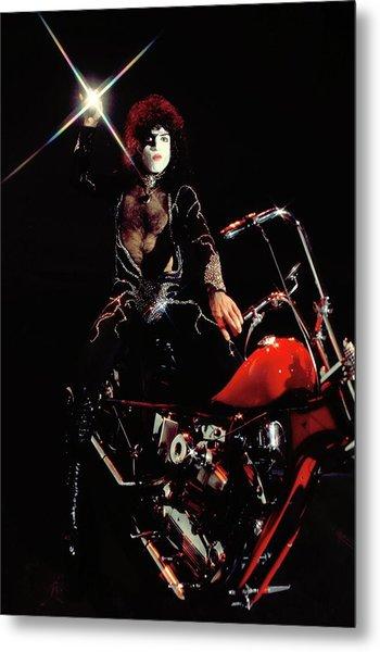 Photo Of Paul Stanley And Kiss Metal Print