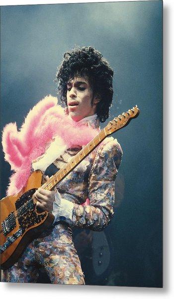 Prince Live At The Forum Metal Print