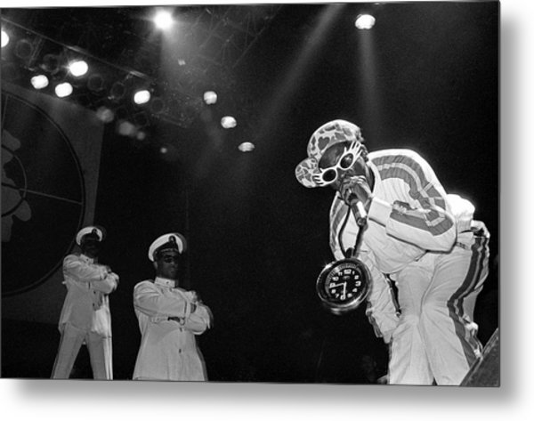 Public Enemy Perform At Docklands Arena Metal Print