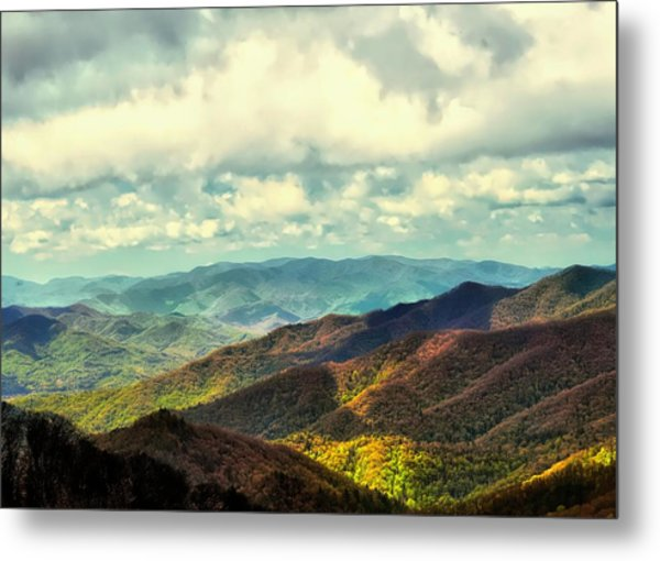 Smoky Mountain Memory Metal Print