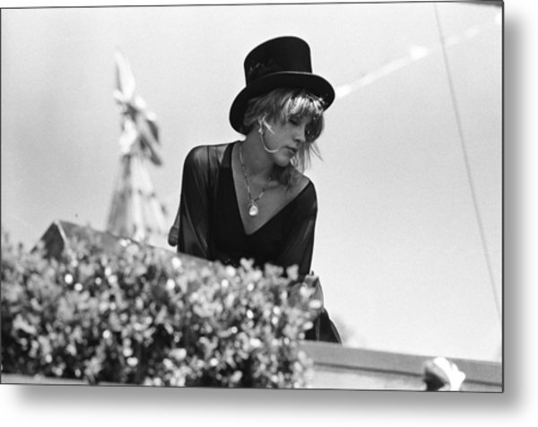 Stevie Nicks Metal Print
