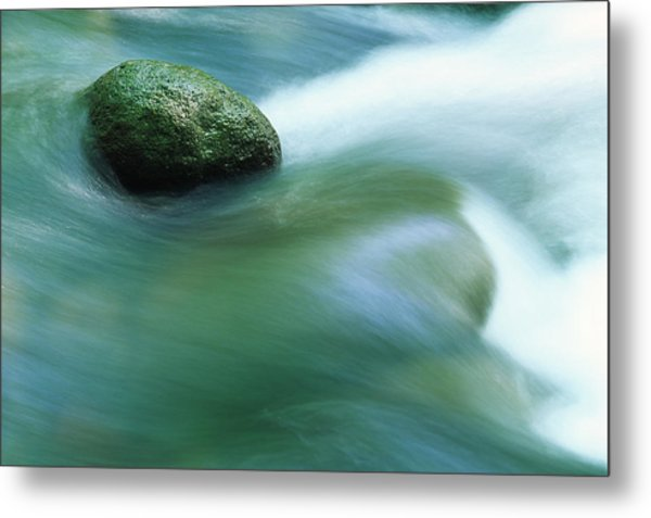 Stream Metal Print by Ooyoo