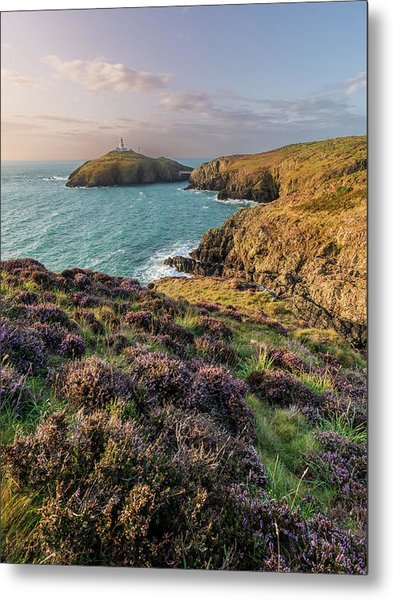 Metal Print featuring the photograph Strumble Head Lighthouse by Elliott Coleman