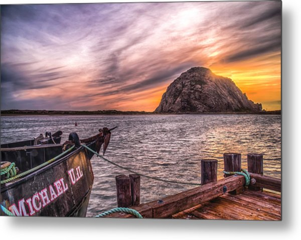 Sunset By The Bay Metal Print by Fernando Margolles