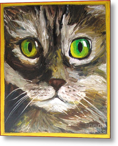 Metal Print featuring the painting Susie by Donna Hall
