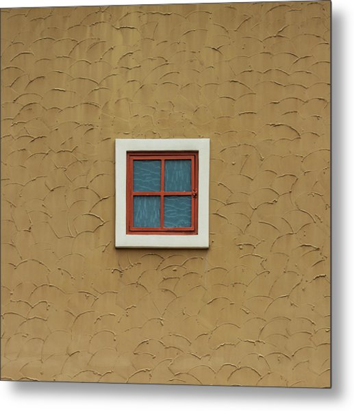 Texas Windows 3 Metal Print