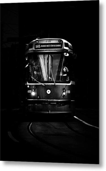Metal Print featuring the photograph The 505 Dundas Streetcar Toronto Canada by Brian Carson