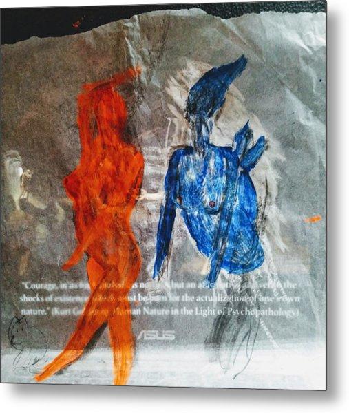 The Immolation Metal Print