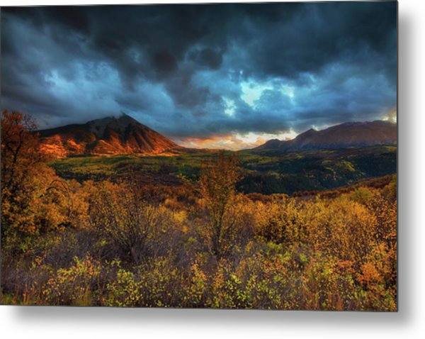 The Last Light Metal Print