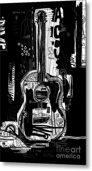 The Symbolic Image Of An Acoustic Metal Print