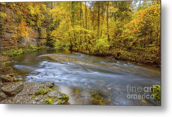 The Wutach Gorge Metal Print