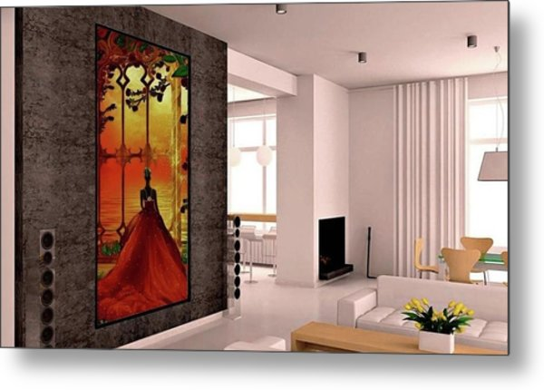 To The Ballroom Metal Print
