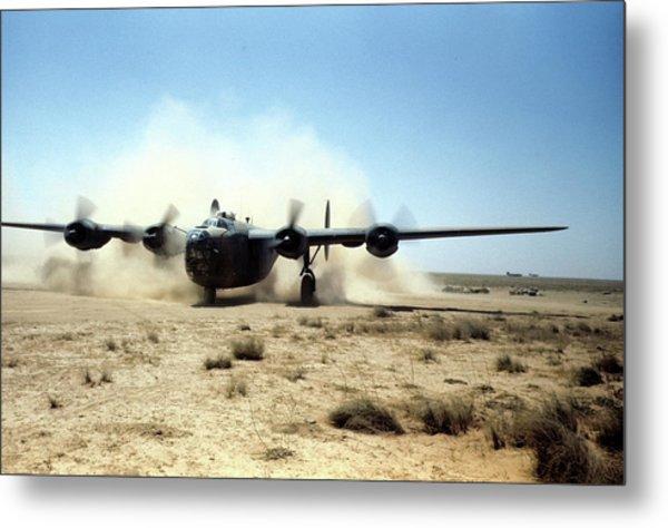 U.s Airforce Base Benghazi Libya Metal Print by Michael Ochs Archives
