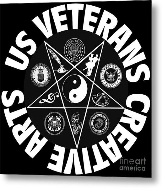 U.s. Veterans Creative Arts Metal Print