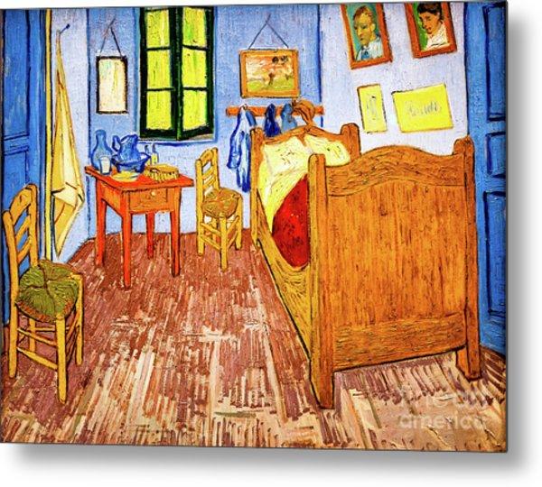 Van Gogh's Bedroom Metal Print