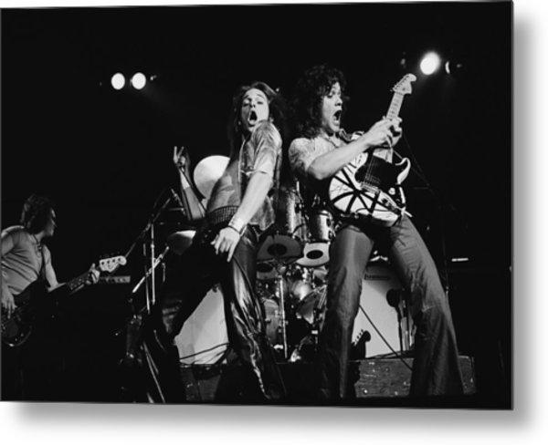 Van Halen In Lewisham Metal Print