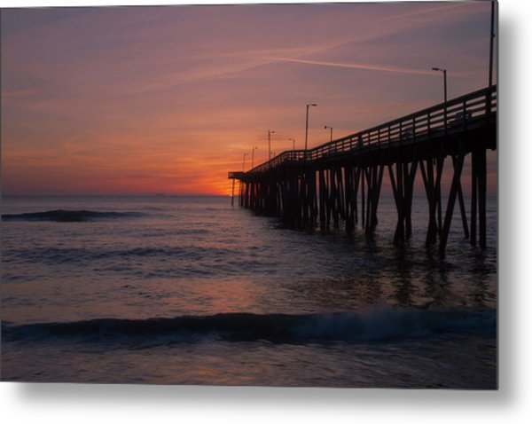 Metal Print featuring the photograph Virginia Sunrise by Pete Federico