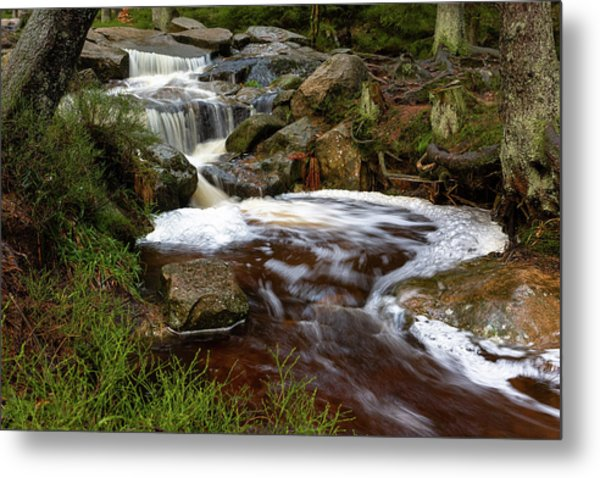 Metal Print featuring the photograph Warme Bode, Harz by Andreas Levi