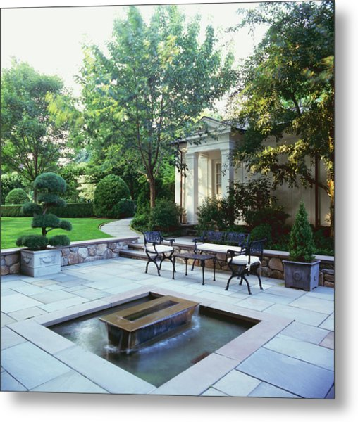 Water Feature Metal Print