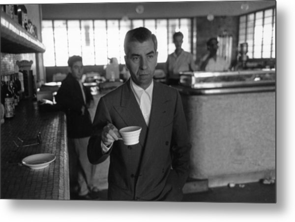 Lucky Luciano Metal Print by Slim Aarons