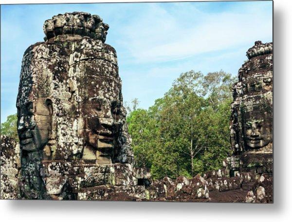 Siem Reap, Cambodia Metal Print by Miva Stock