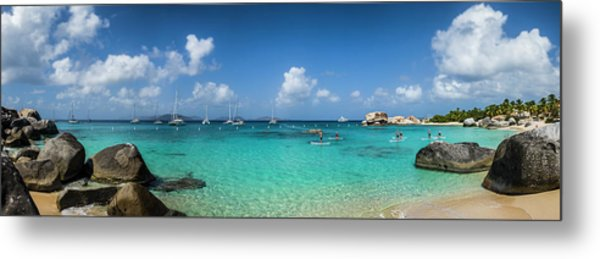 British Virgin Islands, Virgin Gorda Metal Print by Walter Bibikow