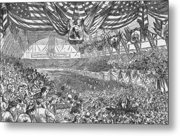 1884 Republican National Convention Metal Print by Kean Collection
